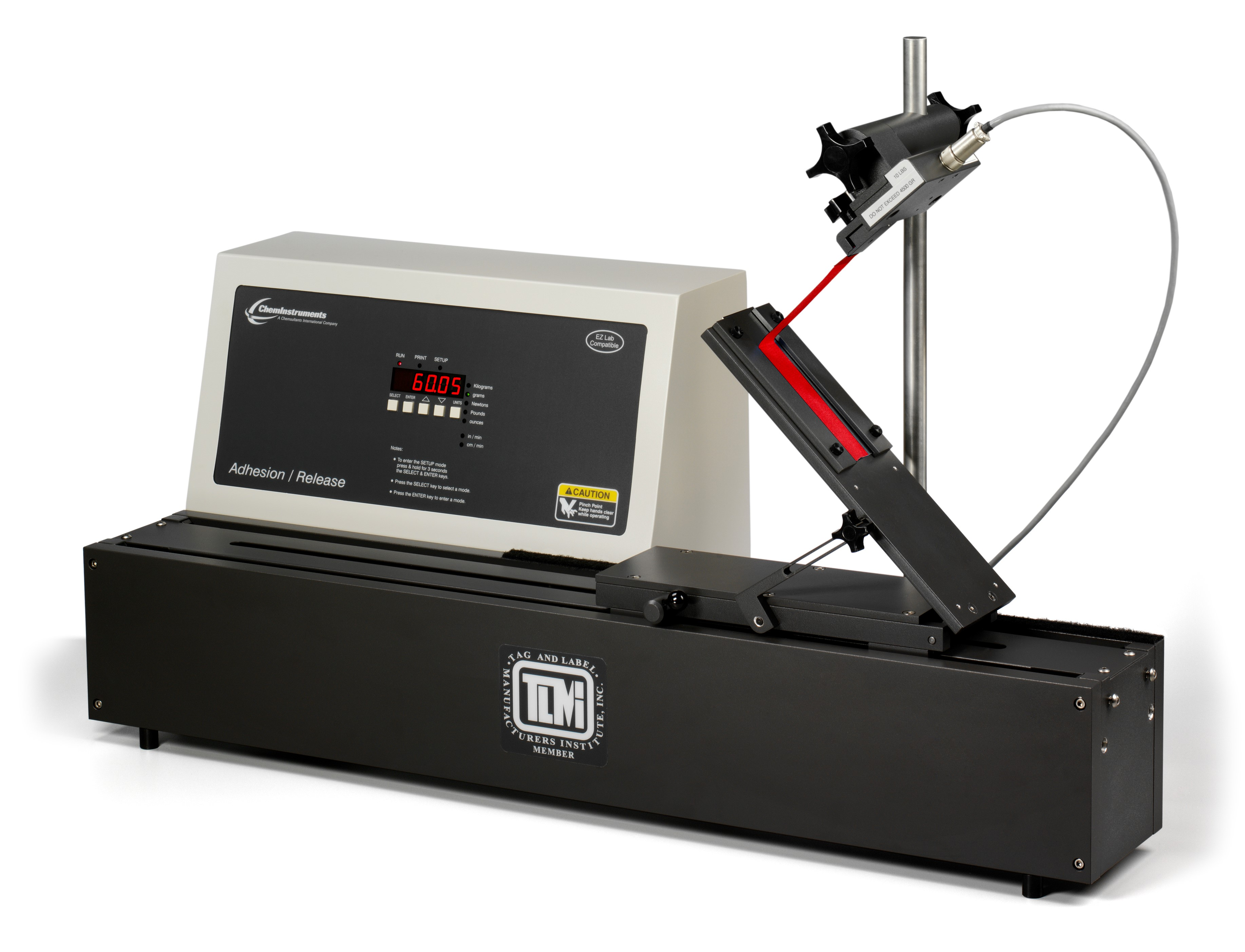 adhesive testing machine